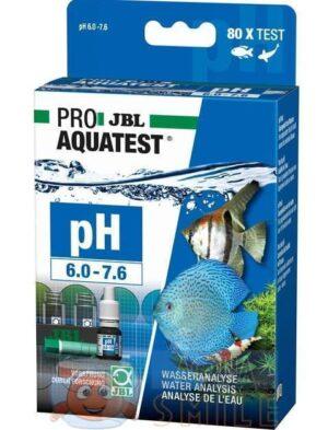 Тест для аквариумной воды JBL PROAQUATEST pH 6.0-7.6 Test