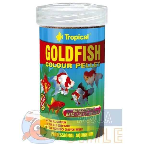 Корм для рыб в гранулах Tropical Goldfish Colour Pellet