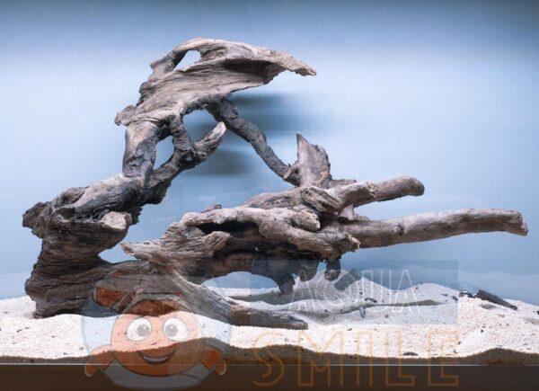 Коряга в аквариум №1 Ольха 46х20х46 см
