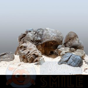 Карпатский камень для аквариума окатанный