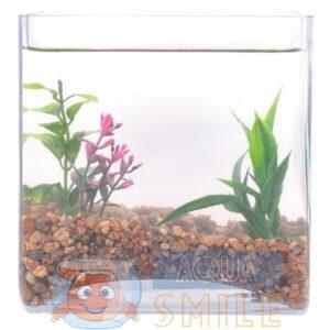 Грунт для аквариума Aquarium Plus кварц янтарный 2 — 5 мм