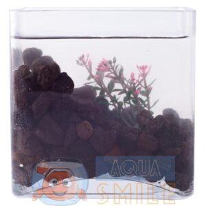 Крошка вулканической лавы для аквариума 1 литр