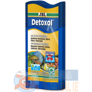 Удаление токсинов в аквариуме JBL Detoxol