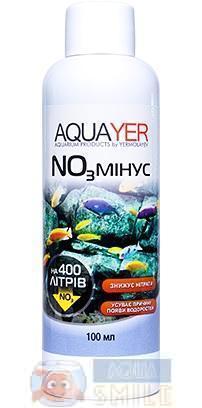 Кондиционер для аквариума AQUAYER NO3 минус