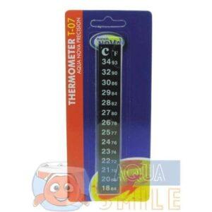 Термометр для аквариума наклейка Aqua Nova