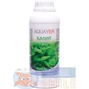 Удобрение для аквариумных растений AQUAYER Удо Ермолаева КАЛИЙ плюс