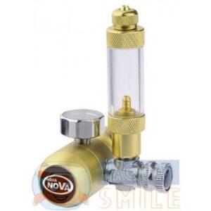 Редуктор для аквариума CO2 Aqua Nova со счетчиком пузырьков