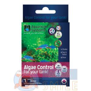 Программа для борьбы с водорослями Aquarium Systems Algae Control FRESHWATER