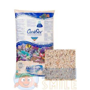 Живой песок для аквариума CaribSea Fiji Pink 9,07 кг.