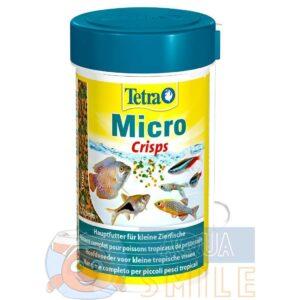 Корм для мелких аквариумных рыб Tetra в гранулах Micro Crisps 100 мл