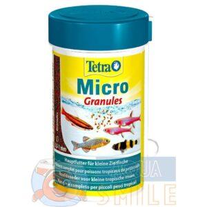 Корм для мелких аквариумных рыб Tetra в гранулах Micro Granules 100 мл