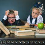Домашні улюбленці допомагають боротися зі стресом у школі ярлик