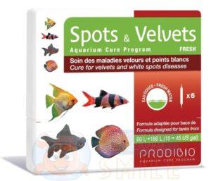 Средство против ихтиофтириуса Prodibio Spots & Velvets Fresh 6 ампул