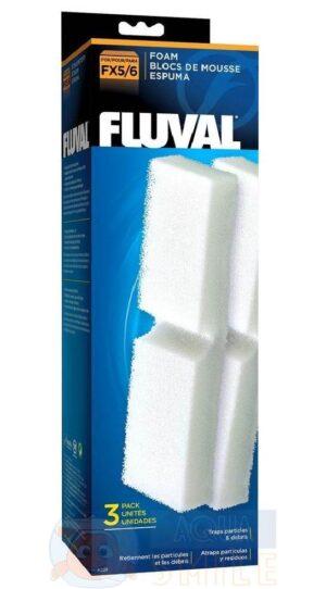 Губки механической очистки для внешних фильтров Fluval FX5/FX6 3 шт.