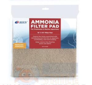 Фильтрующий материал в аквариум Resun FTP-01 AMMONIA FILTER PAD 254х457 мм