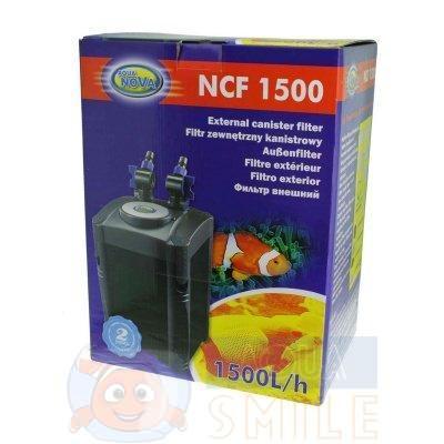 Внешний фильтр для аквариума AQUA-NOVA  NCF-1500
