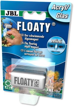 Магнитный скребок для аквариума плавающий JBL Floaty Acryl glass, толщ. стекла 4 мм