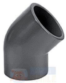 Угол — колено 45 градусов Aqua Medic elbow 45