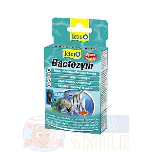 Кондиционер для воды с культурой бактерий Tetra Bactozym 10 капсул
