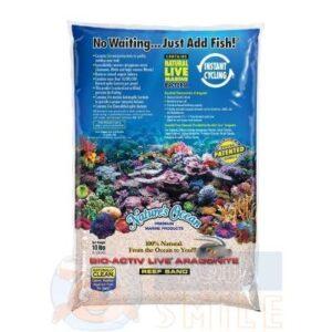 Живой песок для аквариума Nature`s Ocean Active Live Samoa Pink 9 кг