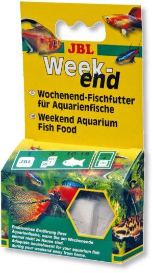 Корм выходного дня для рыб JBL Weekend 4 блока