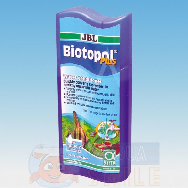 Кондиционер для подготовки воды JBL Biotopol plus 250 мл
