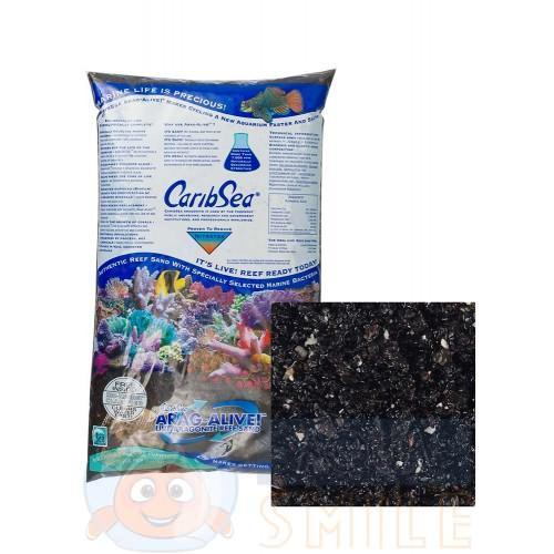 Живой песок для аквариума CaribSea Hawaii Black 9.07 кг