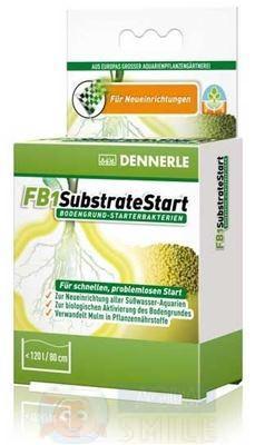 Стартовые бактерии для грунта  DENNERLE FB1 SubstrateStart, 50 г