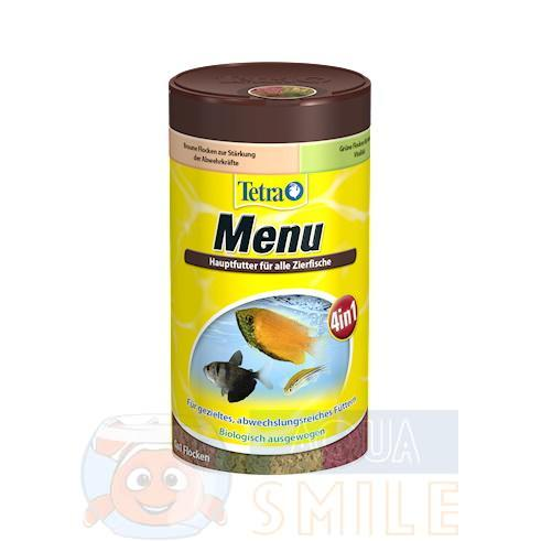 Корм для рыбок хлопья Tetra Menu