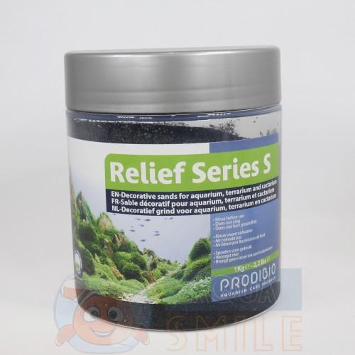 Грунт для аквариума Prodibio Relief Series S05 Shiny black