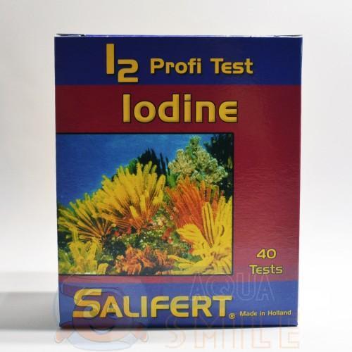 Тест для аквариума на йод Salifert Iodine (I2) Profi Test