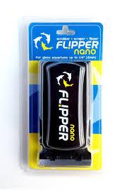 Магнитный скребок для аквариума FLIPPER NANO