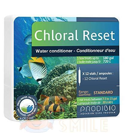 Кондиционер для воды Prodibio Chloral Reset 12 ампул