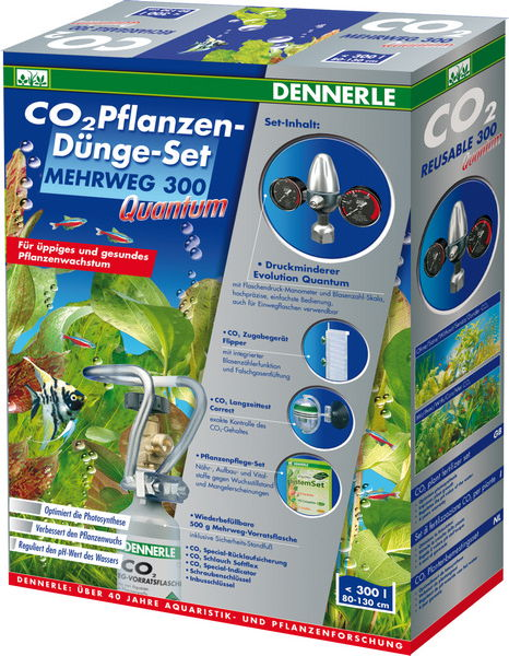 Комплект CO2 DENNERLE MEHRWEG 300 Quantum