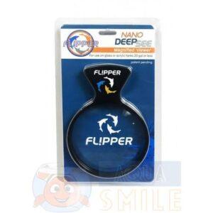 Увеличительное стекло для аквариума на магнитном креплении FLIPPER NANO DEEPSEE VIEWER