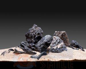 Камень для аквариума Черный Кварц или Seiryu Stone