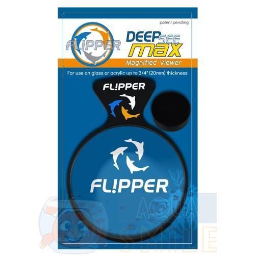 Увеличительное стекло для аквариума на магнитном креплении FLIPPER DEEPSEE VIEWER MAX
