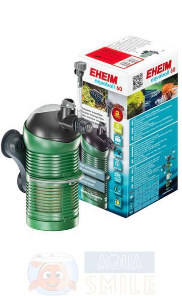 Внутренний фильтр для аквариума Eheim Aquaball 60