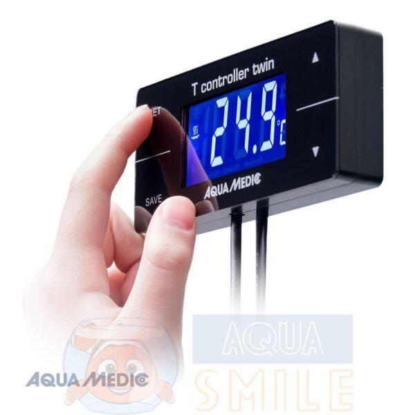 Контроллер термодатчик для аквариума  Aqua Medic T controller twin