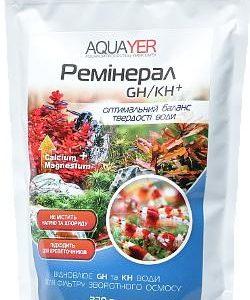 Препарат для аквариума AQUAYER Реминерал GH/KH плюс 330 г
