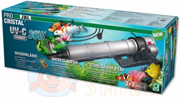УФ стерилизатор для аквариума и пруда JBL ProCristal UV-C 36 Вт