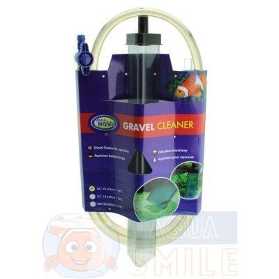 Сифон для очистки грунта Aqua Nova GC-10  25 см