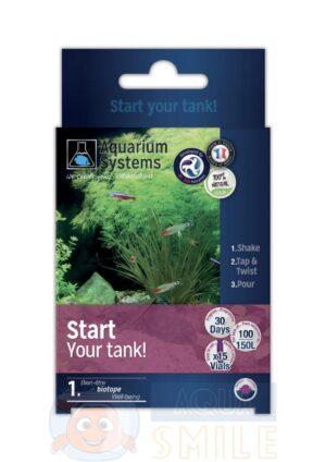 Программа для запуска — бактерии для аквариума Aquarium Systems Start Your Tank