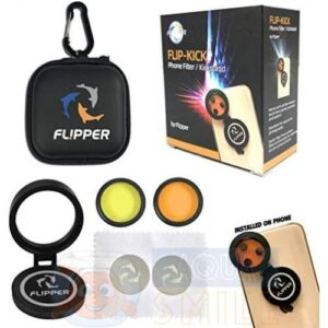 Комплект светофильтров для съемки смартфоном в аквариуме FLIPPER FLIP-KICK