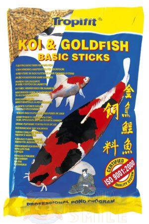 Корм для прудовых рыб Tropical Koi&Goldfish Basic Sticks