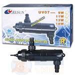 УФ стерилизатор для аквариума Resun UV08 11 Вт.