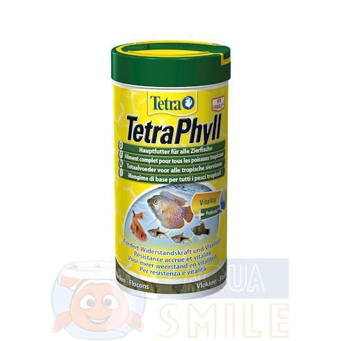 Корм для рыбок хлопья Tetra Phyll