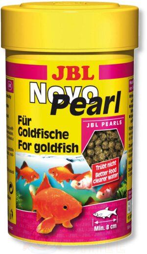 Корм для золотых рыбок гранулы JBL NovoPearl