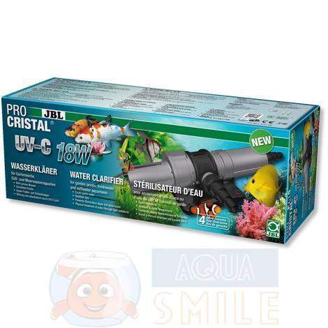 УФ стерилизатор для аквариума и пруда JBL ProCristal UV-C 18 Вт