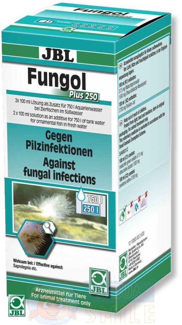 Лекарство для рыбок JBL Fungol Plus 250 200 мл